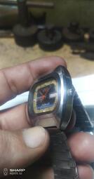 Tesax25j老機械錶,eta2789-1自動上鍊,功能正常需清洗,實品拍照,品相如圖!