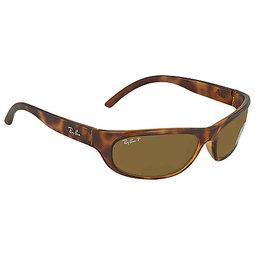 換日線 男太陽眼鏡Ray Ban Predator Brown Polarized Sunglasses RB4033 64247 60  RB4033 64247 60 153308745817 978bf17822