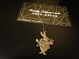 【Only Diamond】愛麗絲仙境兔子 率性手作 客製化串珠手鍊 項鍊
