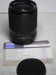 CONTAX 28mm f2│Carl zeiss distagon 9.999成色超級品│鏡身、鏡片-100%全部0痕