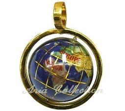 寶石地球墬子 世界地圖 地球儀 20mm GP-20