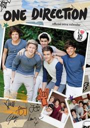 【現貨】One Direction 1世代*Official One Direction 2014 Calendar*2014官方年曆