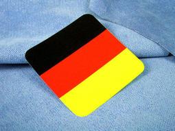 【國旗商品創意館】德國方形登機箱貼紙/抗UV、防水/行李箱、旅行箱/世界多國款可收集訂製