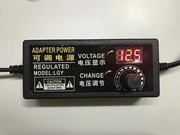 [米奇爸] 數位顯示可調變壓器 電壓可即時調整 3.5-24V 2-10A 調速調光調溫 現貨