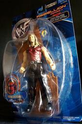 2001  美職摔角 WWF REBELLION 4  THE EDGE 亞當 約瑟夫 科普蘭 ADAM  富貴玩具店