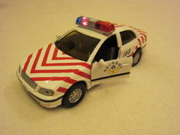 【KENTIM 玩具城】全新EAPAO警車(國道高速公路警車)擬真烤漆合金迴力車(易保公司貨)
