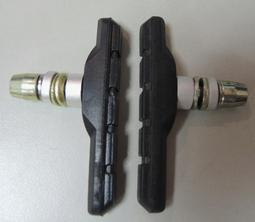 [BR SHOP]V型煞車皮 72mm 1輪份 台灣製造 剎車皮 剎車塊 含稅