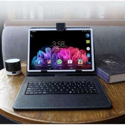 下殺????全新八核 平板電腦 IPS高清屏 送鍵盤皮套 WIFI 2560*1600 4G通話雙卡Android8.1
