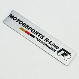 VOLKSWAGEN 福斯  鋁合金 標誌 貼飾 GOLF GTI passat BEETLE POLO LUPO GTI R32 MK5 MK6 MK7