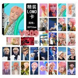 【首爾小情歌】BTS 防彈少年團 V  個人款#09 卡片 小卡組 30張
