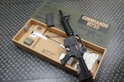 聖堂 MARUI COLT M733 COMMANDO 電動槍 黑鷹計畫