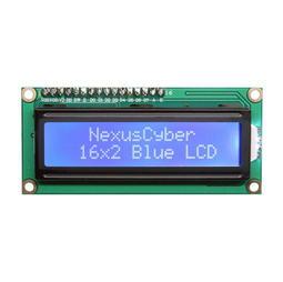 ►68◄Arduino LCD 1602 3.3V LCD IIC I2C 16x2 16*2 藍屏 白字 送杜邦線