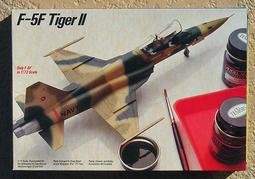 1:72 Testors 美軍 Top Gun F-5F / F-5E TIGER II 全新1,350元