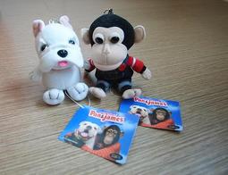 日本電視台正貨 狗狗猩猩大冒險 絨毛娃娃 限量珍藏版