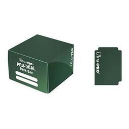 萬隆達﹡遊戲王 塑膠卡盒 收藏盒純色對戰牌盒-綠色 (好分牌的實用盒子)