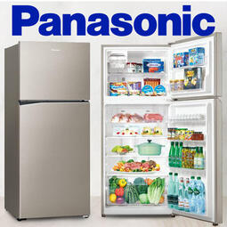 Panasonic 國際牌422公升 雙門冰箱 鋼板系列NR-B420TV【公司貨保固+免運】