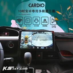 M6r TOYOTA Sienta【CARDIO 360度環景輔助系統3D版】環景系統全觸控操作|岡山破盤王