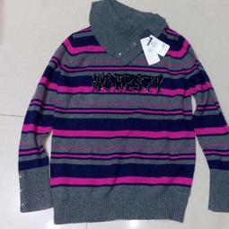 HANG TEN 女高領 羊毛衣 長袖 上衣  XL / L  舒適保暖