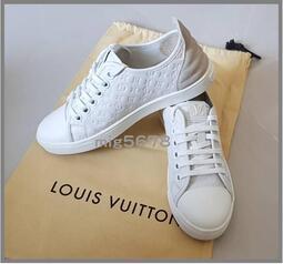 LV 路易威登Louis Vuitton FRONTROW 經典Monogram壓紋款 小牛皮 網球鞋 休閒鞋 運動鞋