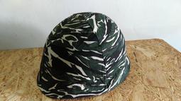新樂園國魂本舖---M-1虎斑迷彩頭盔布-庫存老件