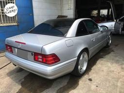 老車庫售:2001 Mercedes Benz R129 SL500 日規完稅(附稀有玻璃硬頂)