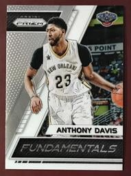 2017-18 Panini Prizm Fundamentals #23 Anthony Davis 鵜鶘隊