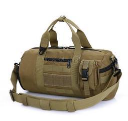 軍用Molle模組化系統 附無線電裝置袋 20L-35L 登山包 休閒包 旅行包 圓筒包 健身運動 側背包