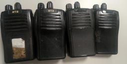 二手 無線電對講機MTS 3188 (初步測試如圖當測試報帳零件機)