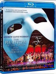 藍光小鋪 歌劇魅影25 週年英國皇家亞伯特音樂廳Phantom of the Opera