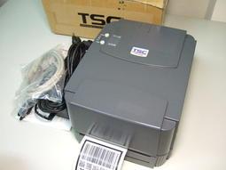 TSC TTP-243E熱轉/熱感條碼列印機/標籤印表機/貼紙機/條碼機/財產標籤機/企業識別/POS週邊