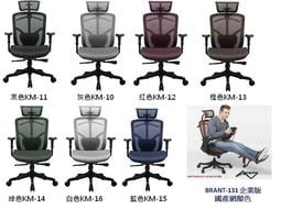 2011新款Brant 131椅企業版-PLUS 高背全網椅 (新增鋁合金背飾)6800元 贈:好禮5選1