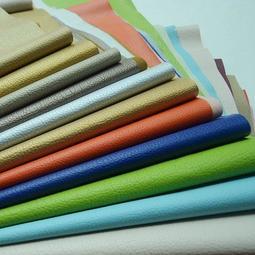 #205105 多色選純色仿皮PU皮人造皮革背面拉毛 皮包裝飾軟包手工家居沙~ 寬幅140CM*1碼【現貨】