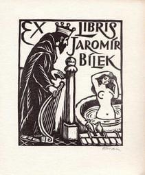 早期藏書票EXLIBRIS / BOOKPLATE 1961