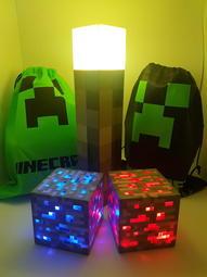火把+礦燈 慶祝4週年特賣活動 創世神 火把 礦石燈 我的世界 創世神 Minecraft LED 麥塊火把 礦石