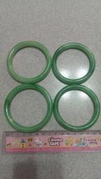 高擬真翡翠手鐲、玉手鐲、玉鐲子、玉鐲 , (內徑約59mm)(1支110元)