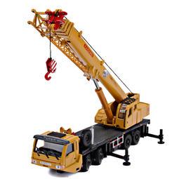 【W先生】Kaidiwei 凱迪威 1:55 1/55 吊車 起重機 工程車 合金模型 金屬模型