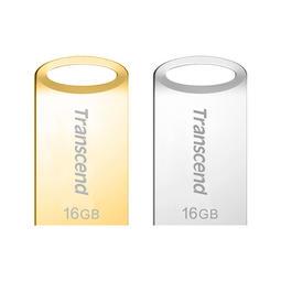 【原廠公司貨】創見 16GB 高質感霧面金屬外殼隨身碟 JetFlash USB 3.1 3.0 16G 防塵防潑水