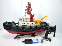 Mini酷啵玩具館~2.4G升級版-仿美國遙控消防船 工作船 消防工作船 ~ 遙控船-會噴水的唷!