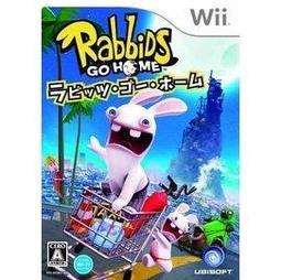 【無現貨】*衝評價*WII遊戲軟體@全新@Wii  雷曼兔歸鄉記   雷射超人 瘋狂~~【電玩國度】~~