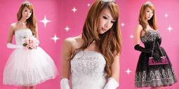【YOYO芭比小舖】T-172千金名媛-孫芸芸奢華平口禮服(兩色) 專賣晚宴服、宴會、派對