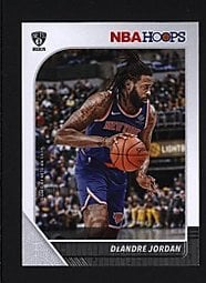 2019-20 Hoops #122 DeAndre Jordan - Brooklyn Nets