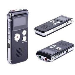 專業數位錄音筆609 8GB 可聲控錄 MP3播放 電話錄音 Line in錄音 即錄即聽 繁體語言