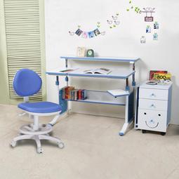 第五代創意小天才兩件組-120cm調節桌+素養家成長椅