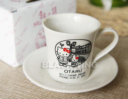 HELLO KITTY 日本限定 北海道 小樽 銀之鐘 咖啡杯 / 最後一組!