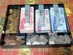 老頑童雜貨舖~日進斗金~做生意老闆 擺攤必備  收銀盒  錢箱  整理盒