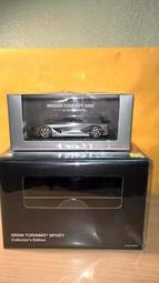 全新拆售 PS4 跑車浪漫旅 競速 1/43 模型車 附典藏版外盒