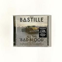 Bastille 巴士底樂團 All This Bad Blood 全能壞胚子 比利時版 專輯