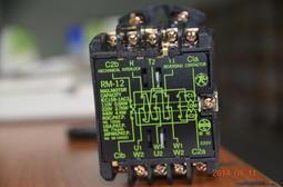 [捷順機電] Tc添誠TENDEX  RM-12正逆電磁接觸器、正反轉接觸器、鐵捲門接觸器