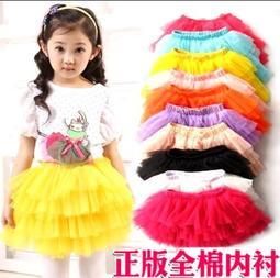 Korinne s Shop 滿400 純取貨 女童多色多碼小公主網紗層層蛋糕裙公主裙表演