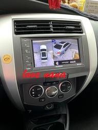 [[娜娜汽車]]日產 livina 專用 3D環景系統 環景行車紀錄器 360度環景輔助系統3D版 支援原廠主機